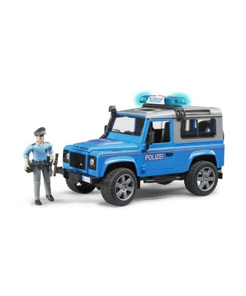 LAND ROVER DEFENDER POLICIA