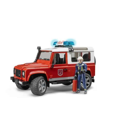 LAND ROVER DEFENDER BOMBEROS