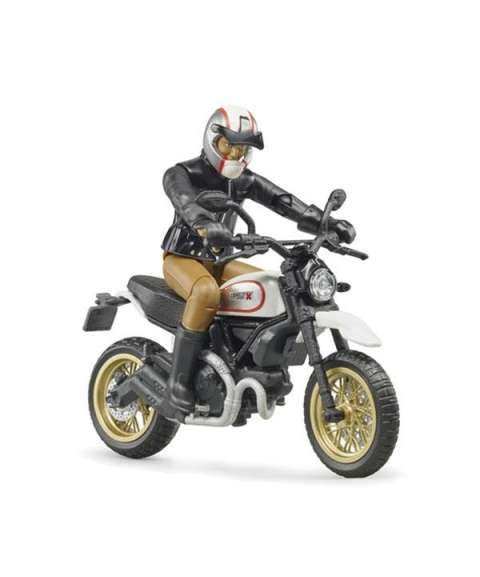 Ducati Desert con muñeco
